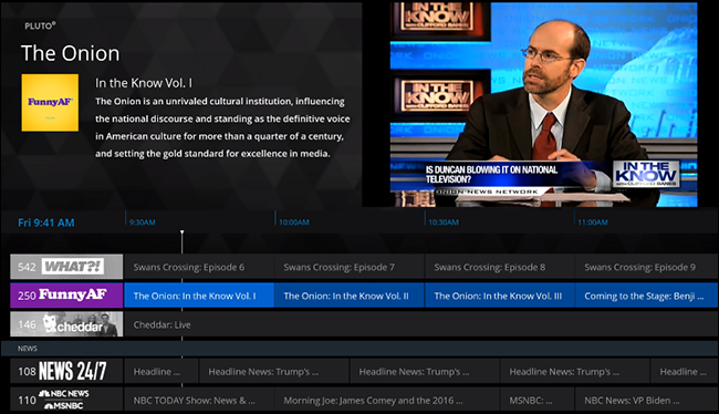 Pluto TV Brings Channel Surfing to Cord Cutters for Free